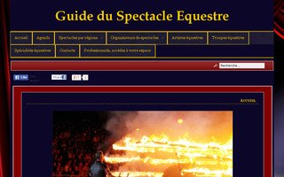 Guide du Spectacle Equestre